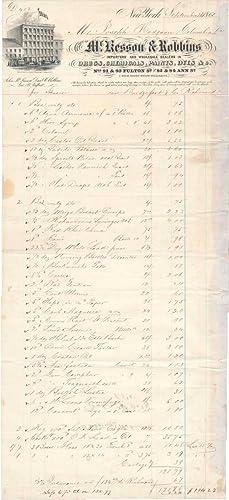 Autograph Document Signed.: McKESSON & ROBBINS).