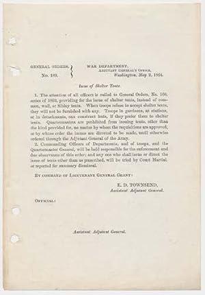 General Orders, No. 189: GRANT, Ulysses S.)