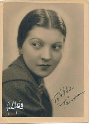 Photograph Signed: MITCHELL, Herbert (1898-1980)