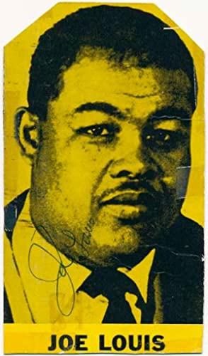 Photograph Signed: LOUIS, Joe (1914-81)