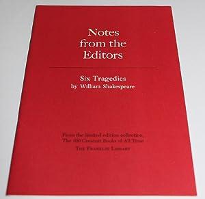 Tragedies: William Shakespeare
