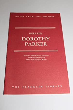 Here Lies: Collected Stories: Dorothy Parker