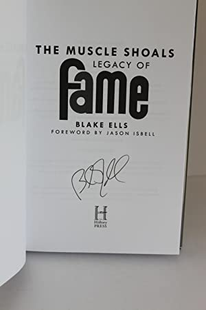 The Muscle Shoals Legacy of Fame: Blake Ells
