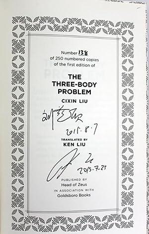 The Three-Body Problem: Liu, Cixin