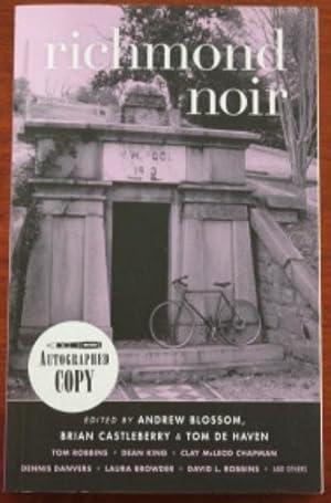 Richmond Noir: Andrew Blossom, Brian Castleberry, Tom De Haven