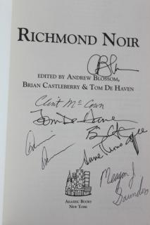 Richmond Noir: Andrew Blossom, Brian Castleberry, Tom De Haven