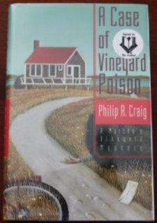 A Case of Vineyard Poison: A Martha's Vineyard Mystery: Craig, Philip R.