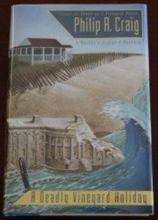 A Deadly Vineyard Holiday: A Martha's Vineyard Mystery: Craig, Philip R.