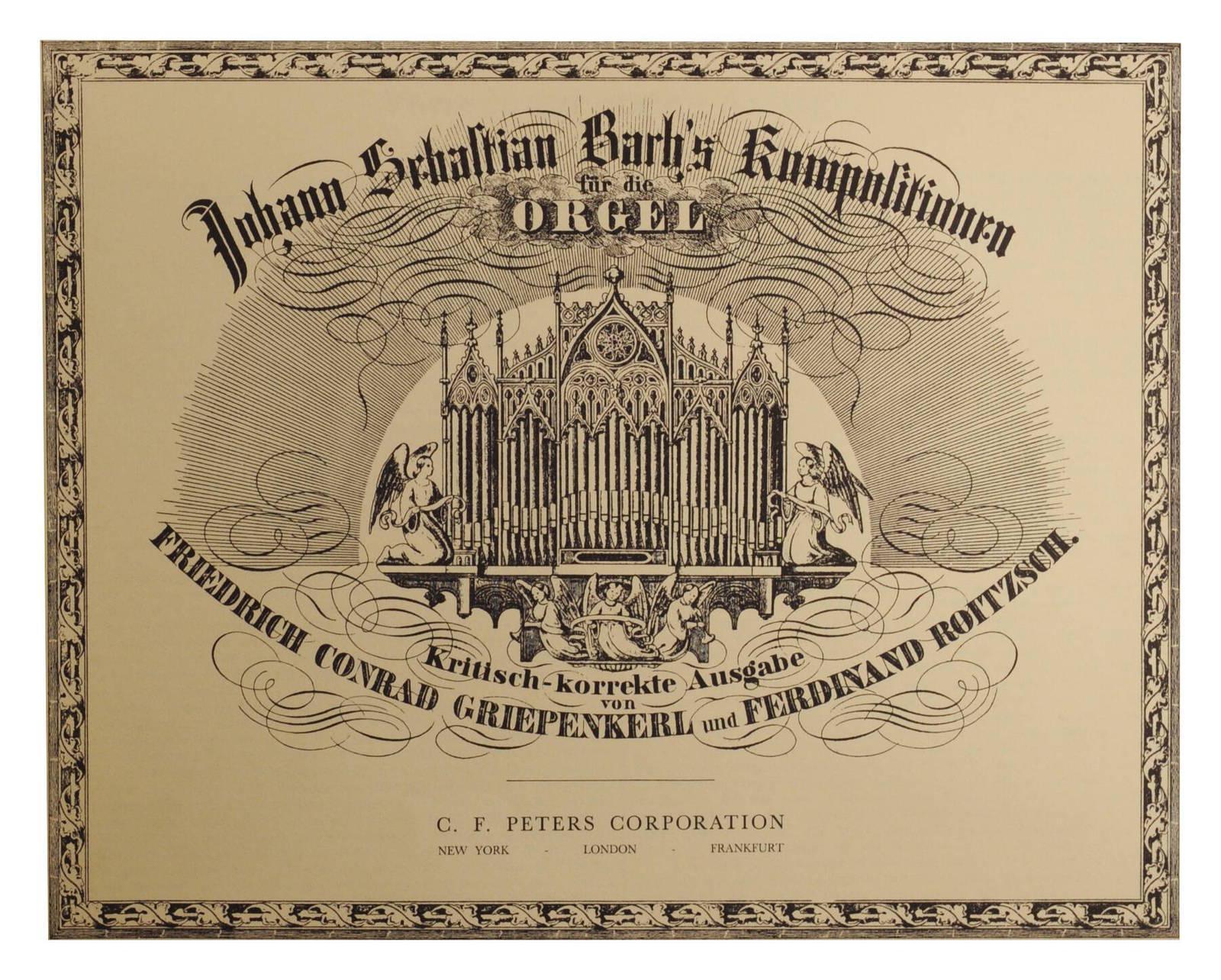 Johann Sebastian Bach Kompositionen