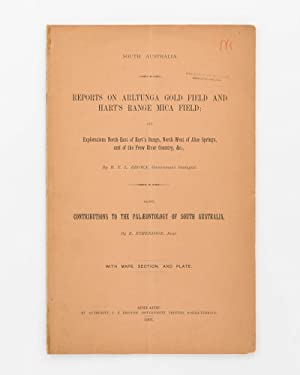 Reports on Arltunga Goldfield, etc. Reports on: BROWN, H.Y.L.