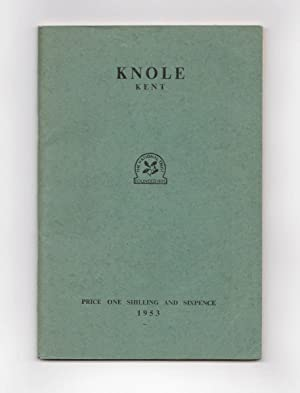 Knole, Kent. The Catalogue of Pictures and: SACKVILLE-WEST, Vita and