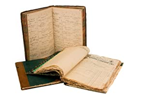 Two very detailed manuscript ledgers from Boettger's practice as an optician (1886-1894), togethe...