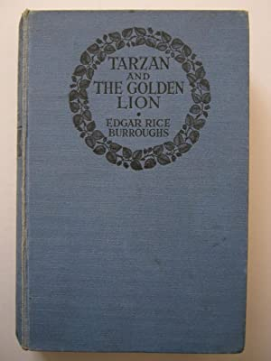 Tarzan and the Golden Lion: Burroughs, Edgar Rice