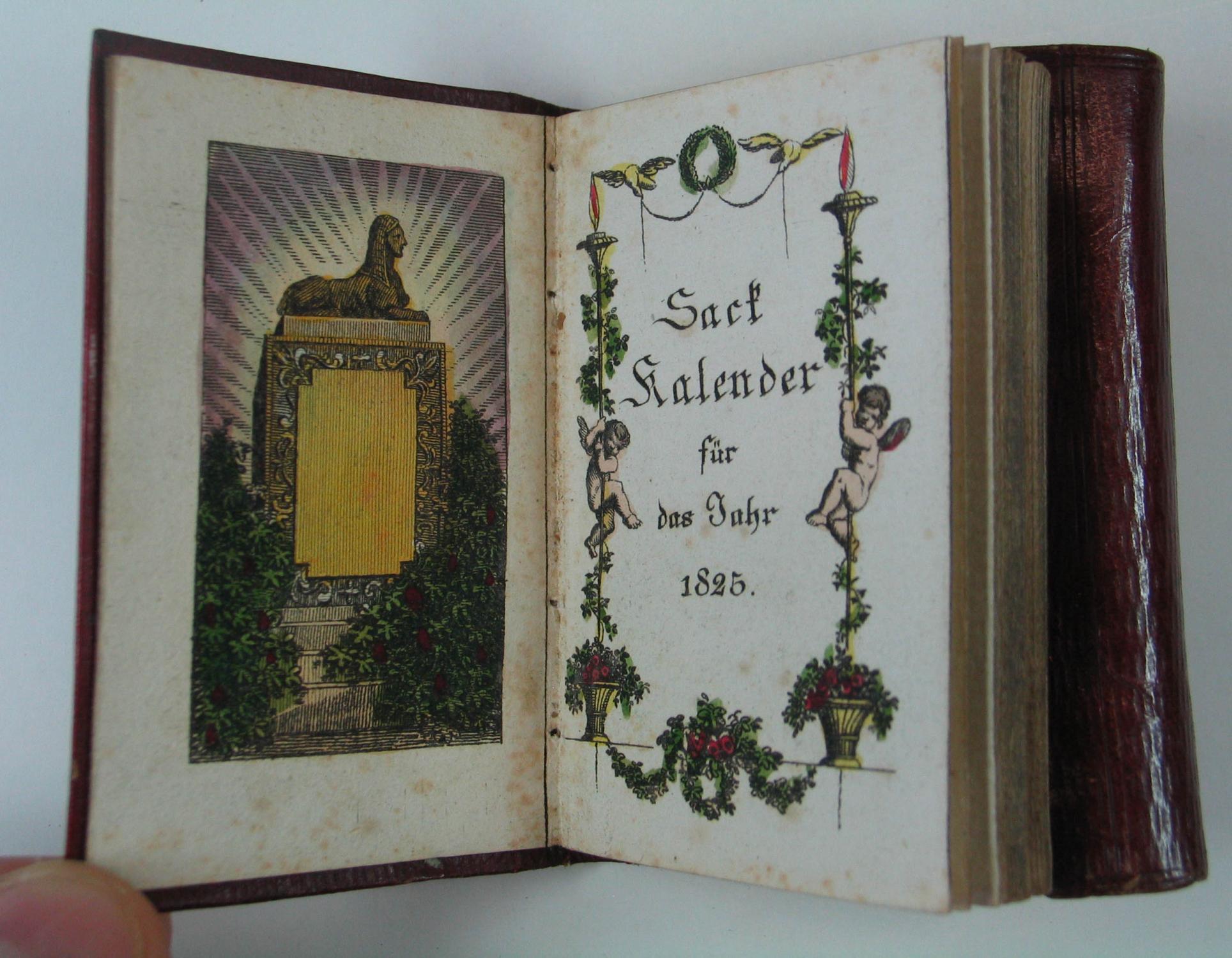 Kompendiöser Sackkalender für das Jahr nach Jesu: Augsburger Kalender