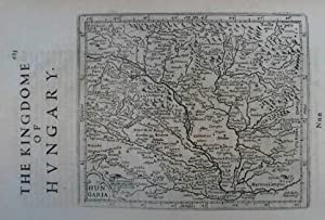 Hungaria. The Kingdome of Hungary. Kupferstich-Karte nach Gerard Mercator aus J. Hondius