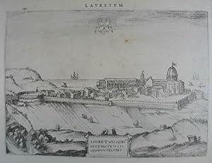 Lauretum acri recenatensis oppidum celebre. Kupferstich aus: Loreto