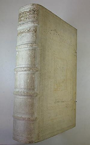Universal-Geographisches-Historisches Lexicon. Worinnen alle Königreiche, Landschaften, Insuln,: Cellarius (Keller) Christoph