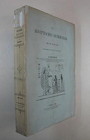Die aegyptischen Denkmaeler in Miramar. Wien, W.: Reinisch S(imon. Leo)