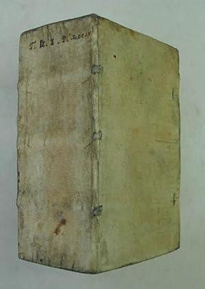 Daemonomachiae sive de bello intelligentiarum super divini: Valmarana Odorico