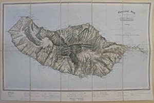 Physical map of the island of Madeira constructed by J. M. Ziegler, from that of Captain Vidal R....