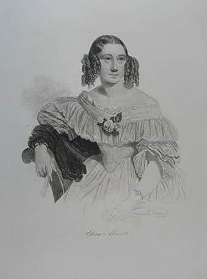 """Stahlstich v. Andrew Duncan aus """"Tages-Bericht für die Modenwelt"""". Leipzig 1842, 19 x 16 cm..."""
