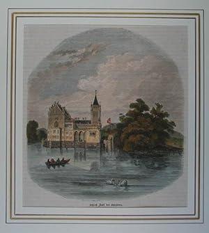 Vue du chateau d'Anif, près Salzbourg, en: Anif - Schloß