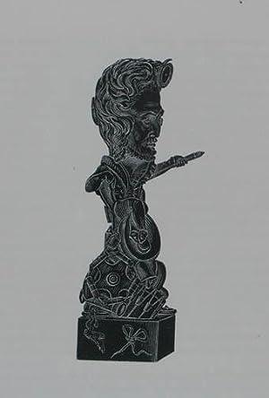 """Holzstich aus """"Musée Dantan. Galerie des charges: Jullien Louis-Antoine (1812-1860)"""