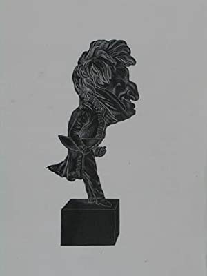 """Holzstich aus """"Musée Dantan. Galerie des charges: Berton Henri Montan"""