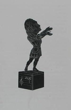 """Holzstich aus """"Musée Dantan. Galerie des charges: Duprez Gilbert-Louis (1806-1896)"""