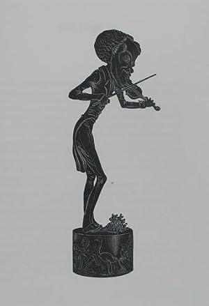 "Holzstich aus ""Musée Dantan. Galerie des charges: Strauss Johann Vater"