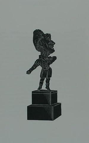 """Holzstich aus """"Musée Dantan. Galerie des charges: Ponchard Louis Antoine"""