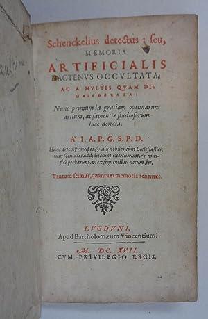 Schenkelius detectus, seu memoria artificialis hactenus occultata: Paepp Jan)