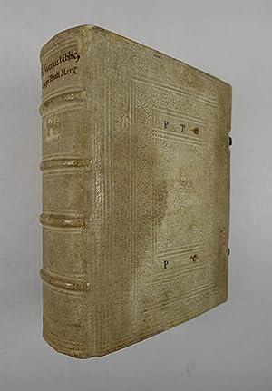 Thesaurus biblicus completus, locupletissimus, ex ipsis sacrarum: Merz Philipp Paul