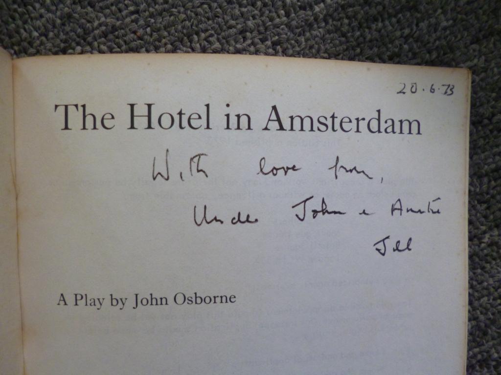 the hotel in amsterdam osborne john