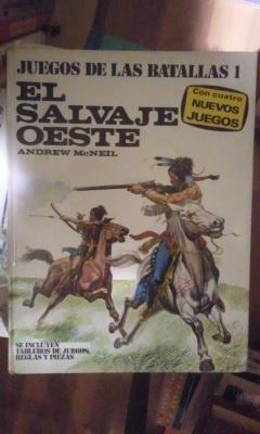 EL SALVAJE OESTE. Juegos de Batallas 1 (Barcelona, 1977): Andrew McNeil