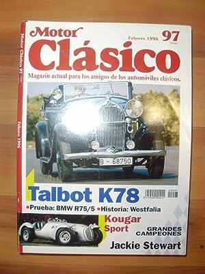 MOTOR CLÁSICO nº 97. Revista de automóviles