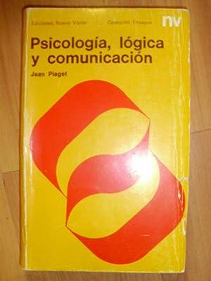 PSICOLOGÍA, LÓGICA Y COMUNICACIÓN (Buenos Aires, 1970): Jean Piaget