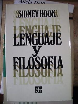 LENGUAJE Y FILOSOFÍA (México, 1969): Sidney Hook (compilador)