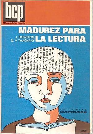 MADUREZ PARA LA LECTURA (Argentina 1974): J. Downing y D.V. Thackray