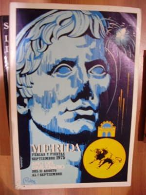 MÉRIDA. Año del Bimilenario. Ferias y Fiestas de 1975 (Mérida, 1975)