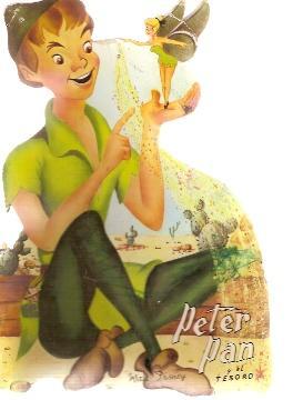 PETER PAN Y EL TESORO (Barcelona, 1970): Walt Disney