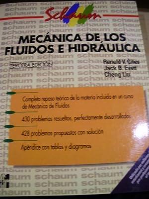 MECÁNICA DE LOS FLUIDOS E HIDRÁULICA (Madrid,: Ranald V. Giles/