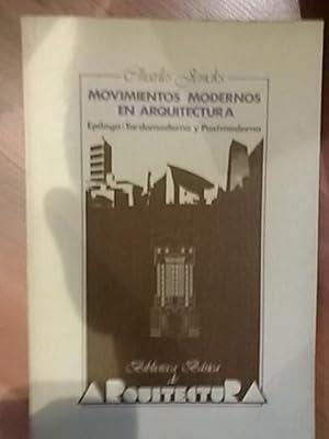 MOVIMIENTOS MODERNOS EN ARQUITECTURA (Madrid, 1983): Charles Jencks