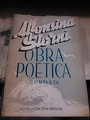 Alfonsina Storni: OBRA POÉTICA COMPLETA (Buenos aires, 1968): Alfonsina Storni (1892-1938)