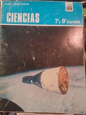 CIENCIAS. 7º Y 8º CURSOS (Madrid, 1967): José Luis Allué