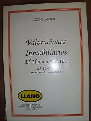 VALORACIONES INMOBILIARIAS. El manual práctico (Bilbao, 1976) 2ª edición, ...