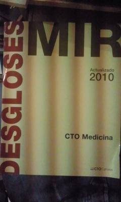 DESGLOSES MIR. CTO MEDICINA(Madrid, 2010)Actualizado: VV. AA.