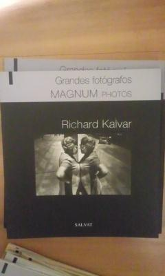 RICHARD KALVAR (Barcelona 2008) Grandes fotógrafos MAGNUM: RICHARD KALVAR