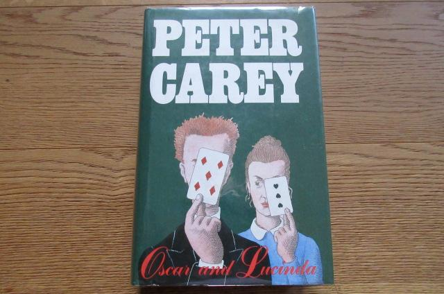 Oscar And Lucinda Signed By Carey Peter University Of border=