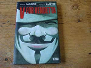 V for Vendetta - SIGNED with DRAWING: Moore, Alan &